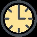 办公 钟 时间 图标