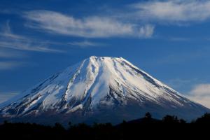 雪山 蓝天 风景 火山口