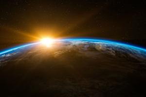地球 朝阳